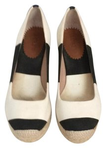 J.Crew Canvas Size 6 Striped Wedges