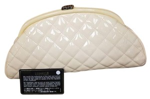 Chanel Peach Clutch