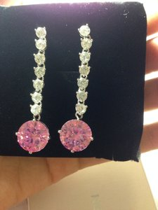 NaNa Delicate Rhinestone Drop Earrings For Bride