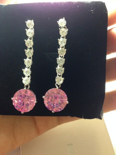Preload https://item3.tradesy.com/images/nana-pink-delicate-rhinestone-drop-for-bride-earrings-1859182-0-0.jpg?width=440&height=440