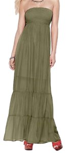 Fern green Maxi Dress by Guess