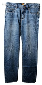 Tommy Bahama Mens Straight Leg Jeans-Light Wash