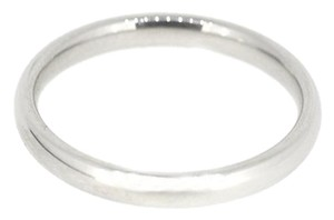Other Benchmark 14K White Gold Simple Wedding Band 4.0 Grams Size 10 Mens