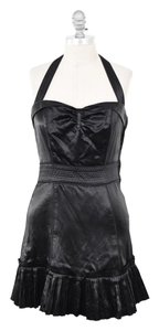 Marc Jacobs Satin Sweetheart Ruffled Dress
