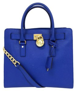 Michael Kors Hamilton Tote in Electric Blue