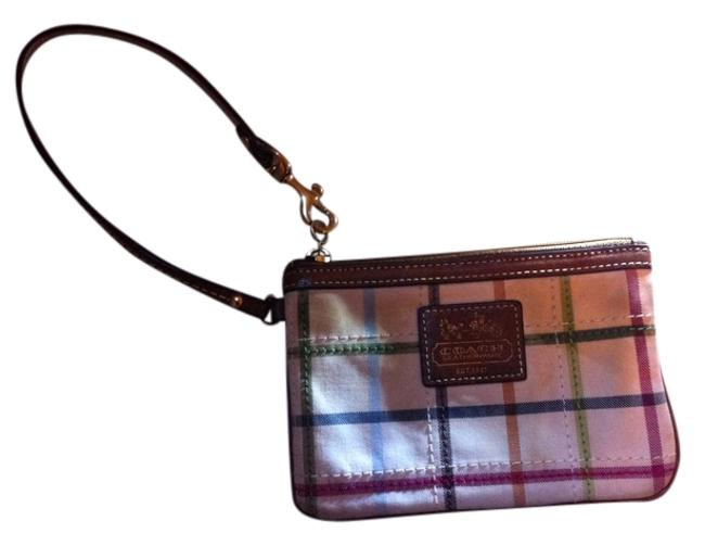 Item - Reserved For Carolina Only 3 Peice Lot Used Tattertail Signature Gray/Black Poppy 1 Multi-colors Cotton Wristlet