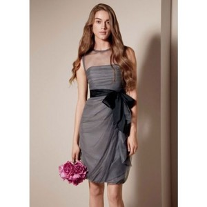 Vera Wang Charcoal Bobbin Net Dress Style: Vw360037 Dress