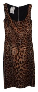 Leopard print Maxi Dress by Dolce&Gabbana