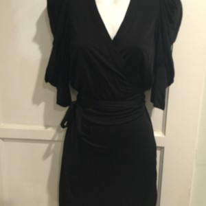 A|X Armani Exchange Wrap Little Dress