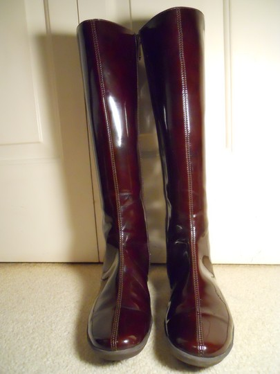 Aquatalia by Marvin K. Rain Leather Mc brown Boots