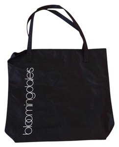 Bloomingdale's Tote in Black/White