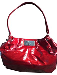 Céline Patent Leather Hobo Shoulder Bag