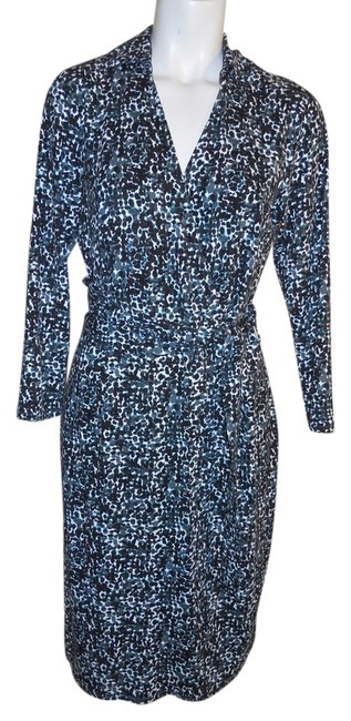 Preload https://img-static.tradesy.com/item/1859450/ann-taylor-black-grey-green-and-white-knit-knee-length-workoffice-dress-size-6-s-0-0-650-650.jpg