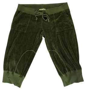 Juicy Couture Capris Olive Green