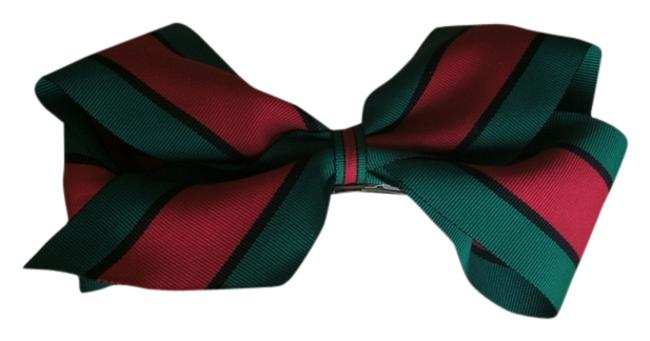 Item - Red Green & Black Gucci Offray Ribbon Hairbow Hair Accessory