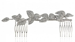 Samantha Wills Wisteria Dusk Petite Hair Comb - Silver -samantha Wills