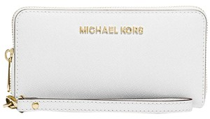 Michael Kors New Jet Set Travel Multifunction Phone Wallet Saffiano Leather
