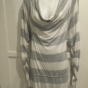 BCBGMAXAZRIA Striped Cover Up Tunic