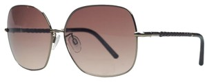 Tod's Tod's Gold Square Sunglasses
