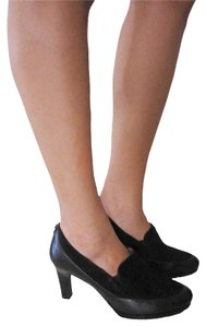 Naturalizer Suede Leather Pump BLACK Pumps