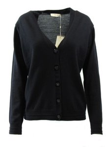 Tory Burch Madison Cardigan Navy Sweater