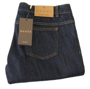 Gucci 338501 Womens 70s Cotton Denim 44g Flare Leg Jeans