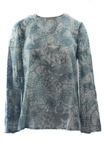 Tory Burch Texture Baltic Sea Dreamsz Tunic