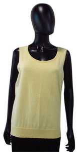 Talbots Pale Top Yellow