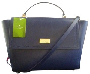 Kate Spade Lilah Tote Two-toned Satchel in Lilac
