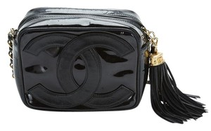 Chanel Patent Leather Vintage Cross Body Bag