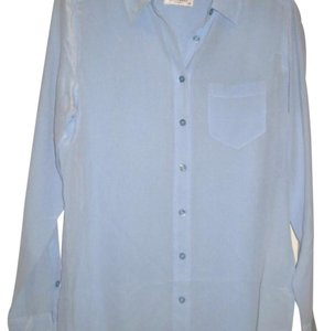Equipment Button Down Shirt Blue