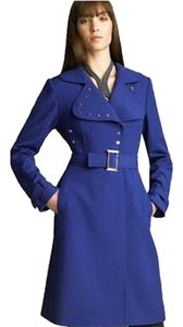 Elie Tahari Studded Burberry Trench Coat