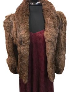 Wilsons Leather Fur Jacket Small Coat
