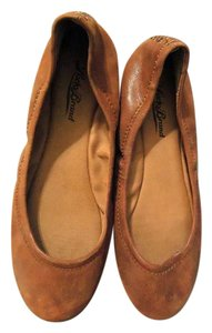 Lucky Brand Leather Ballet Slipper beige Flats