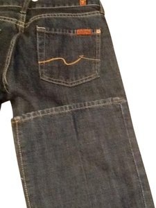 7 For All Mankind Seven Boot Cut Jeans-Dark Rinse