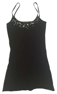 Velvet by Graham & Spencer Sequin Top Black