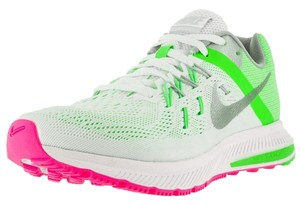 Nike Womens Shoe White/Green Athletic