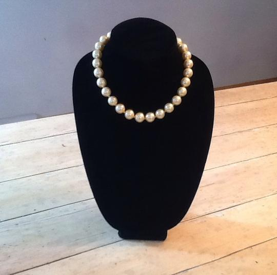 Other Costume pearl necklace+earrings