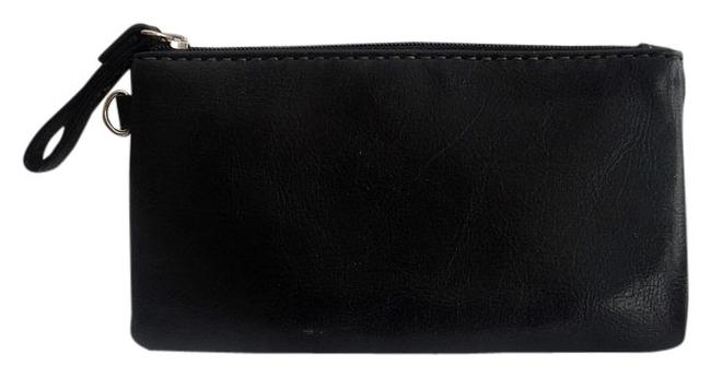 Item - Black New Wot Leather Baggie / Coin Purse. Wallet