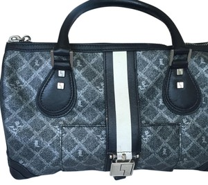 L.A.M.B. Satchel in Black And Gray