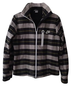 Nike Plaid: Black, yellow, gray Jacket