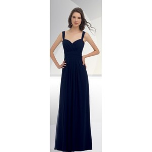 Bill Levkoff Navy D'zage 8034 Dress