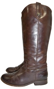 Frye Ridiing new dark brown Boots