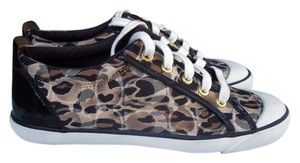 Coach Animal Print Ocelot Signature brown Athletic