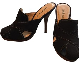 Dollhouse Brown Mules