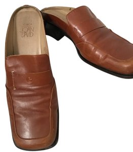 Circa Joan & David Mule Square Toe British Tan Mules