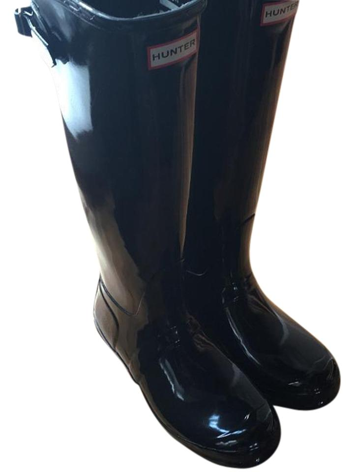 Hunter Boots/Booties Black Classic Tall Glossy Boots/Booties Hunter 1e3ea8