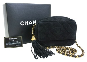 Chanel Chain With Fringe Suede Stock06690 Shoulder Bag