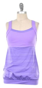 Athleta Stretch Space-dyed Nylon Fitness Top Lavender