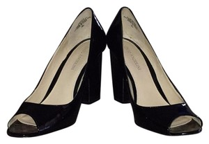 Enzo Angiolini Black patent Formal